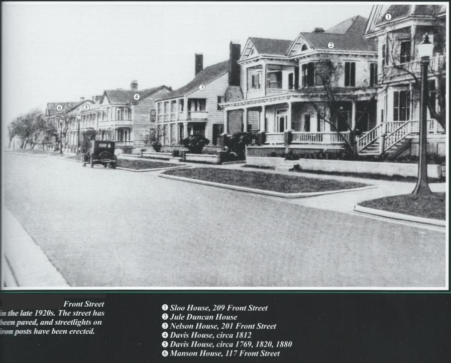 West Front Street Houses circa 1920s