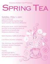 Spring Tea Flyer