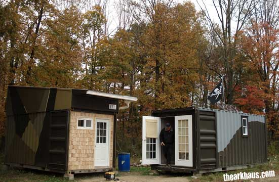 Shipping container homes: the ultimate in self-reliance? – 10/21/11