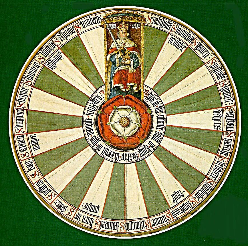 Blog dell 39 arco reale rito di york la tavola rotonda di art - Cavalieri della tavola rotonda ...