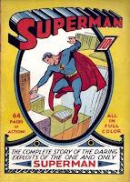 Superman #1 comic book cover