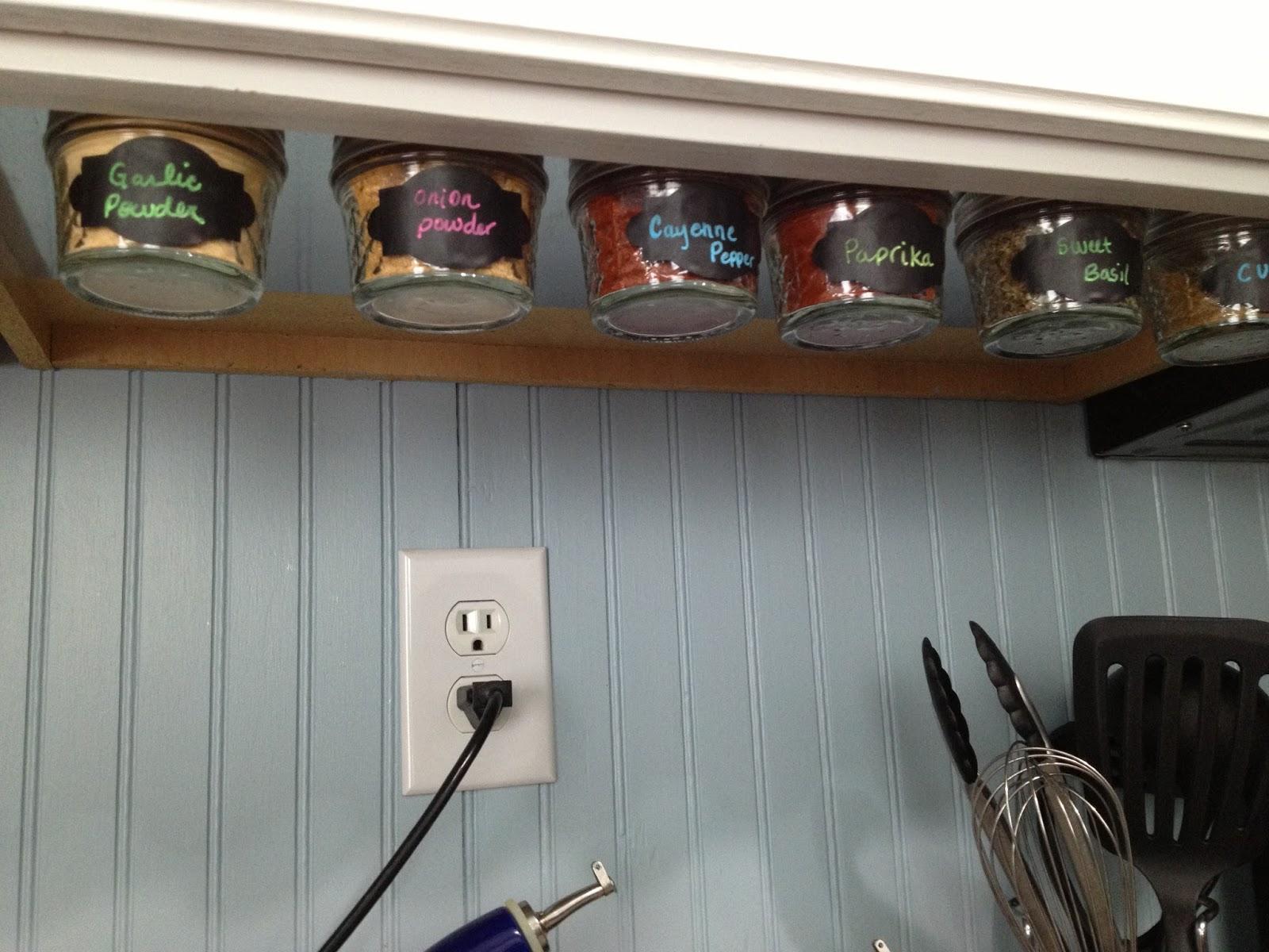 lavender gray under cabinet magnetic spice rack under cabine