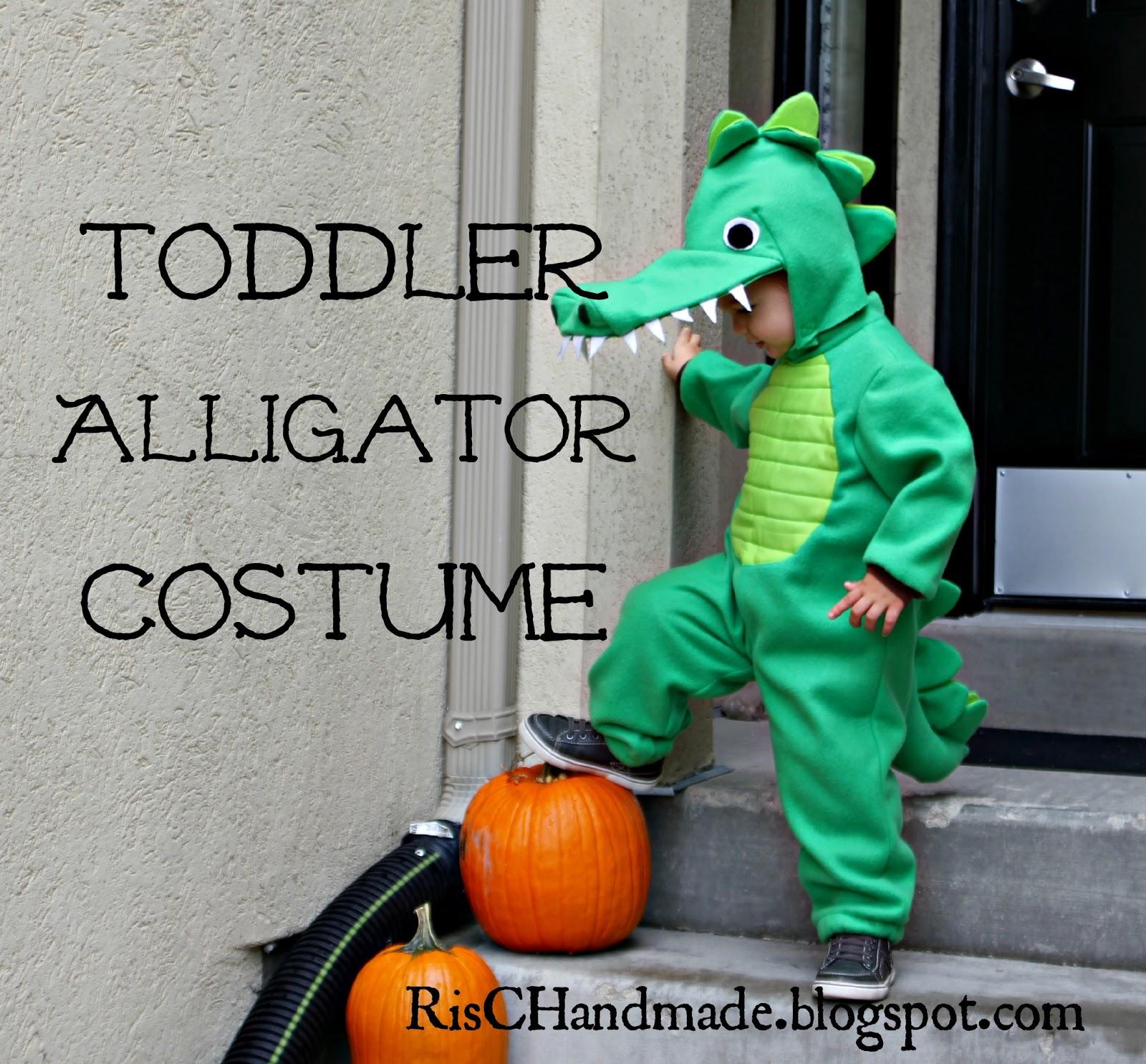 Risc Handmade Toddler Alligator Costume