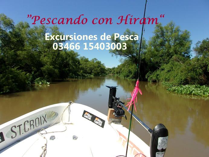 PESCANDO CON HIRAM