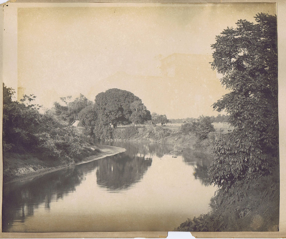 River Scene - Somewhere in India c1900's