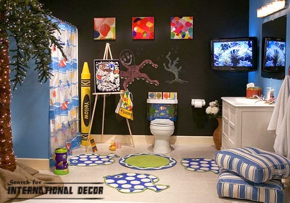 bathroom decor trends,bathroom design ideas,kids bathroom decorating ideas