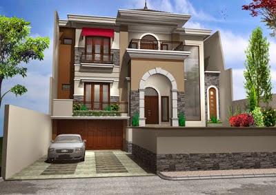 Gambar Desain Rumah Mewah Minimalis 2 Lantai