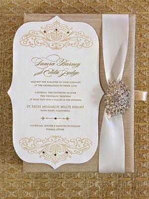 Celebrity Weddings Tamra Barneys Wedding Invitation Things
