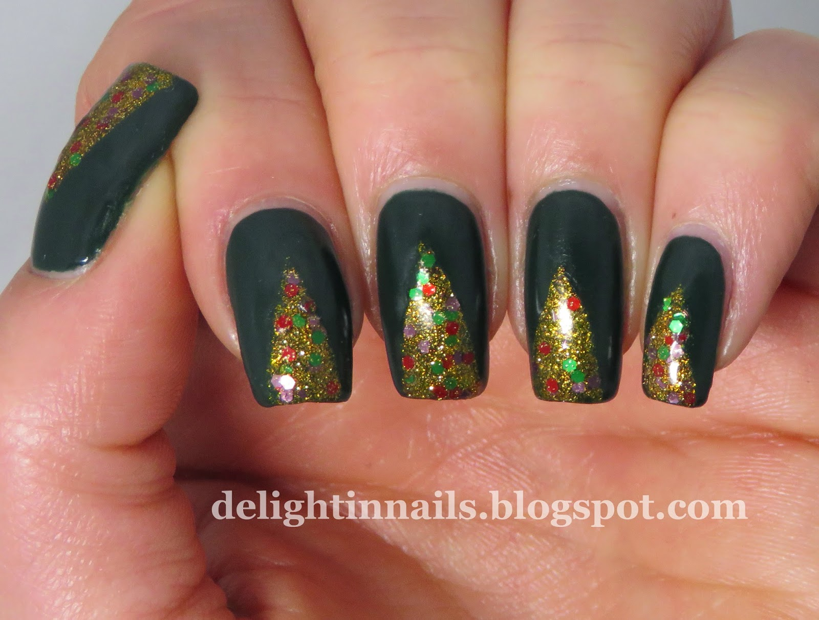 Delight In Nails 52 Week Pick N Mix Challenge Dark Green