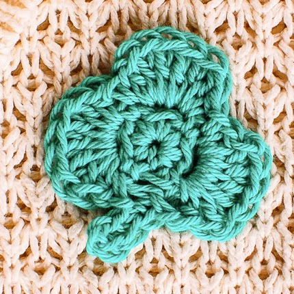 Small Clover Crochet Pattern