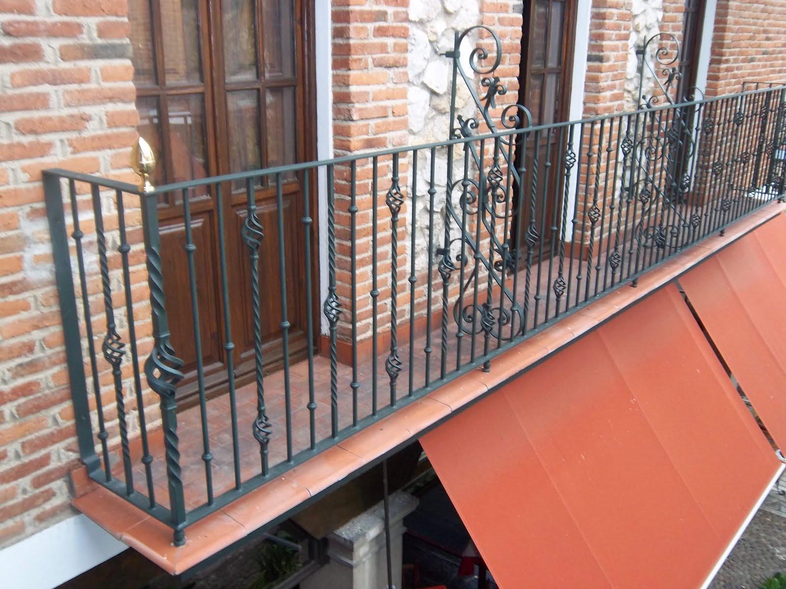 Norbel carpinteria met lica y acero inoxidable balcones - Balcones de forja antiguos ...