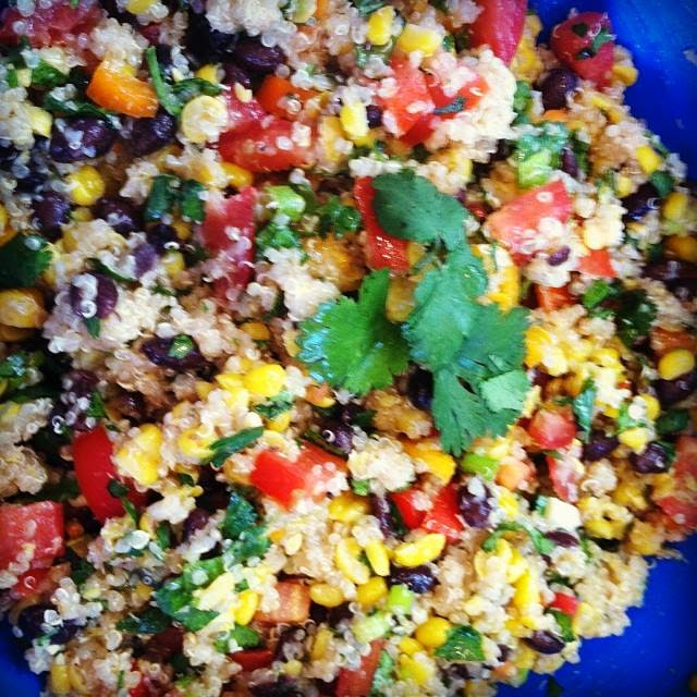 Mexican Quinoa Salad Recipe