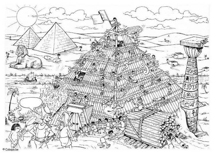 hicieron las piramide:
