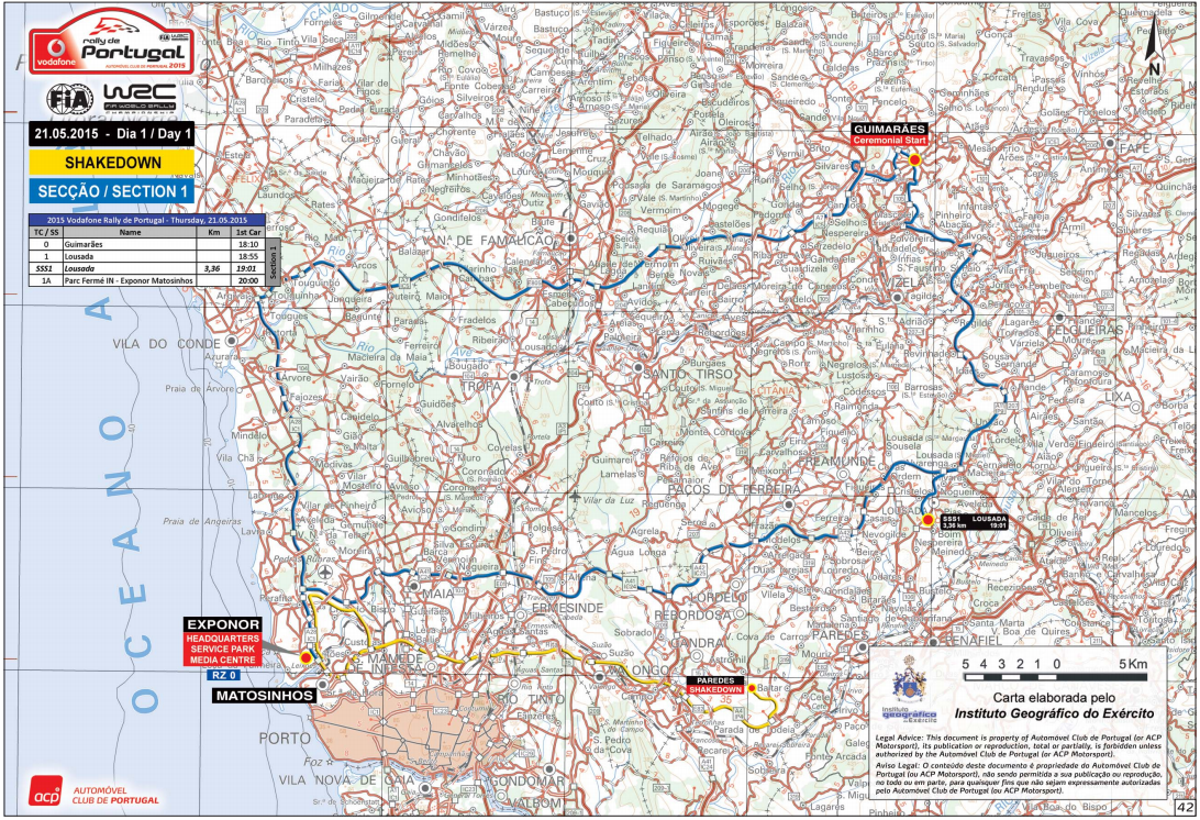 BARRACUDARACING VODAFONE RALLY DE PORTUGAL MAIO - Wrc portugal 2016 map