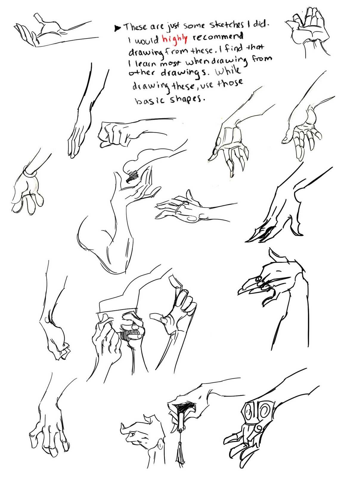 Line Drawing Tumblr Tutorial : The animation student collective hand drawing