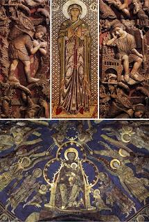Элементы романской архитектуры и ранней готики