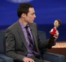 Jim & Mini Sheldon❤