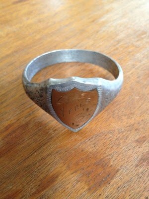 Ypres WW1 Trench Art Napkin Ring
