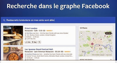 Facebook lance Graph Search