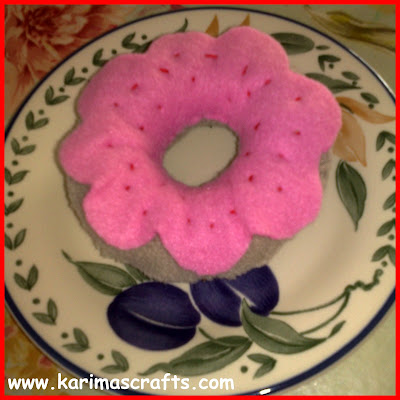 felt donut tutorial muslim blog
