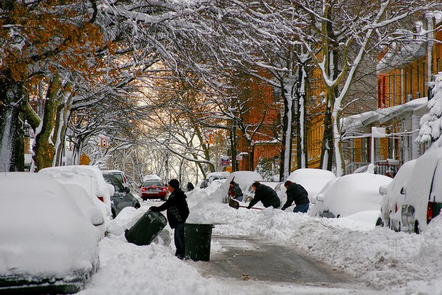 Winter Storm in America
