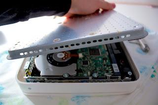 Time capsule hard drive