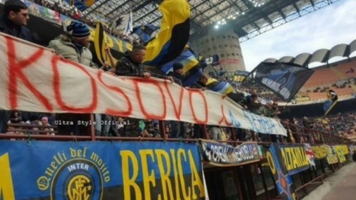 Inter was Apologizes Kosovars for the Banner