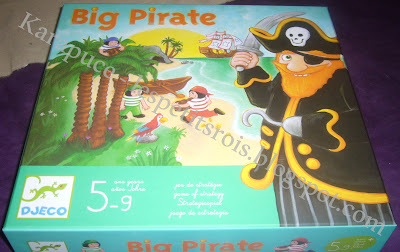 Jeu de société Big Pirate de Djeco
