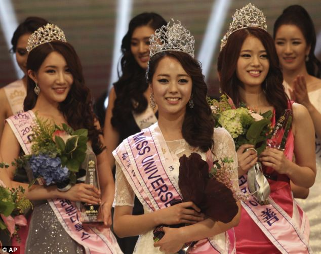Miss Universe Korea 2013 winner Yoo Ye-bin