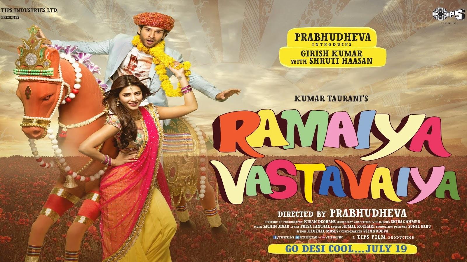 Ramaiya Vastavaiya Full Movie Download