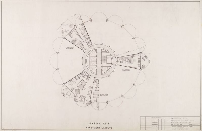 Marina City Chicago Floor Plan