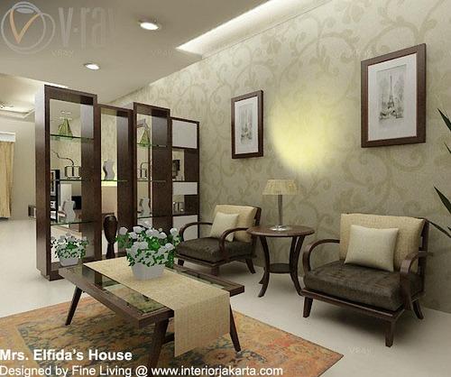Ruang minimalis lebih kosong dengan perabut yang terhad dan kawasan ...