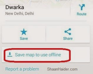 HOW TO : Save Offline Google Maps in iPhone and Android ( www.ShaanHaider.com )