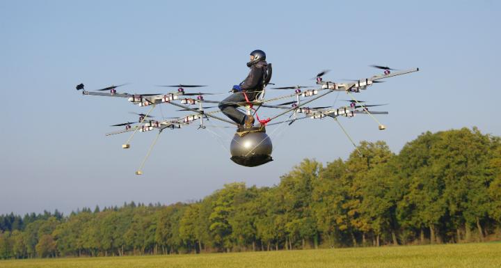 Летательный аппарат вертикального взлета своими руками