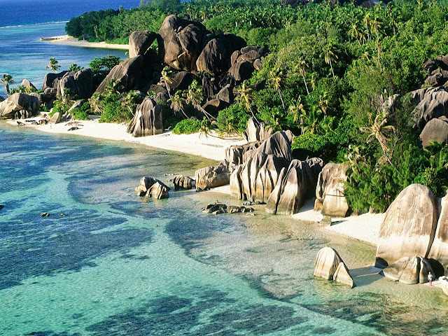 Seychelles Islands, Africa, La Dique