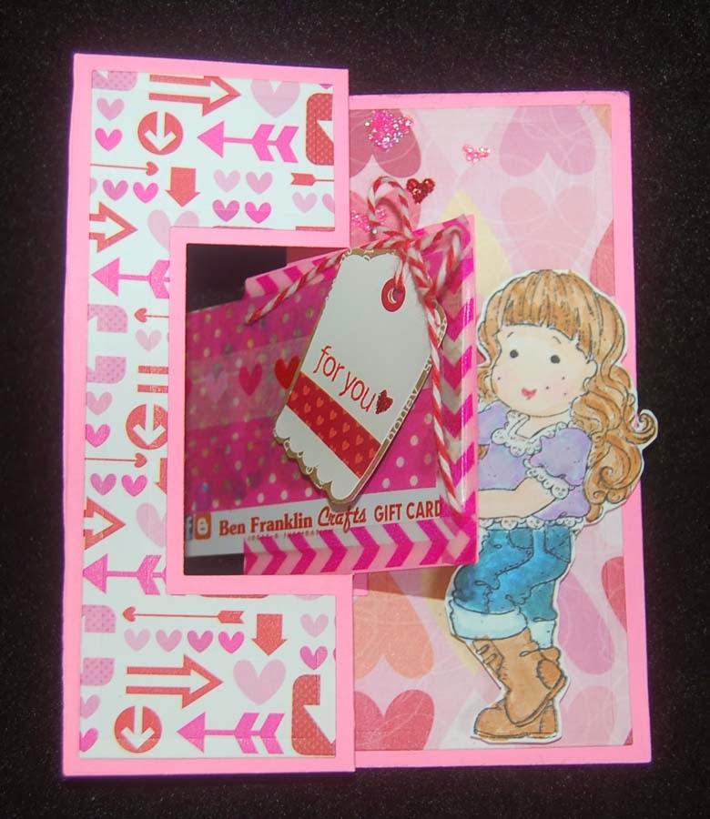 Lynn S Craft Blog Valentine Gift Card Holder
