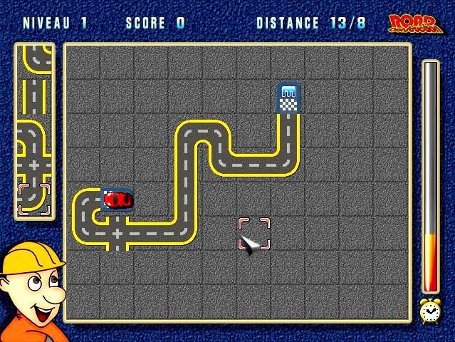 لعبة توصيل السيارات Road Construction