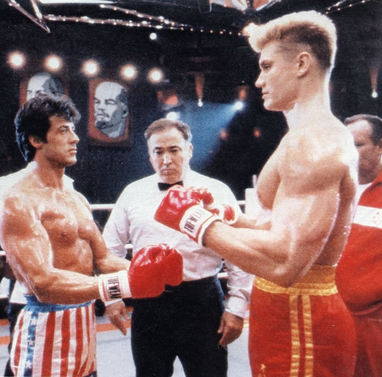 russian wife and rocky 4 Rocky, the iron horse, will be going to russia to fight ivan drago, aka death from above owned by mgm/united artists.