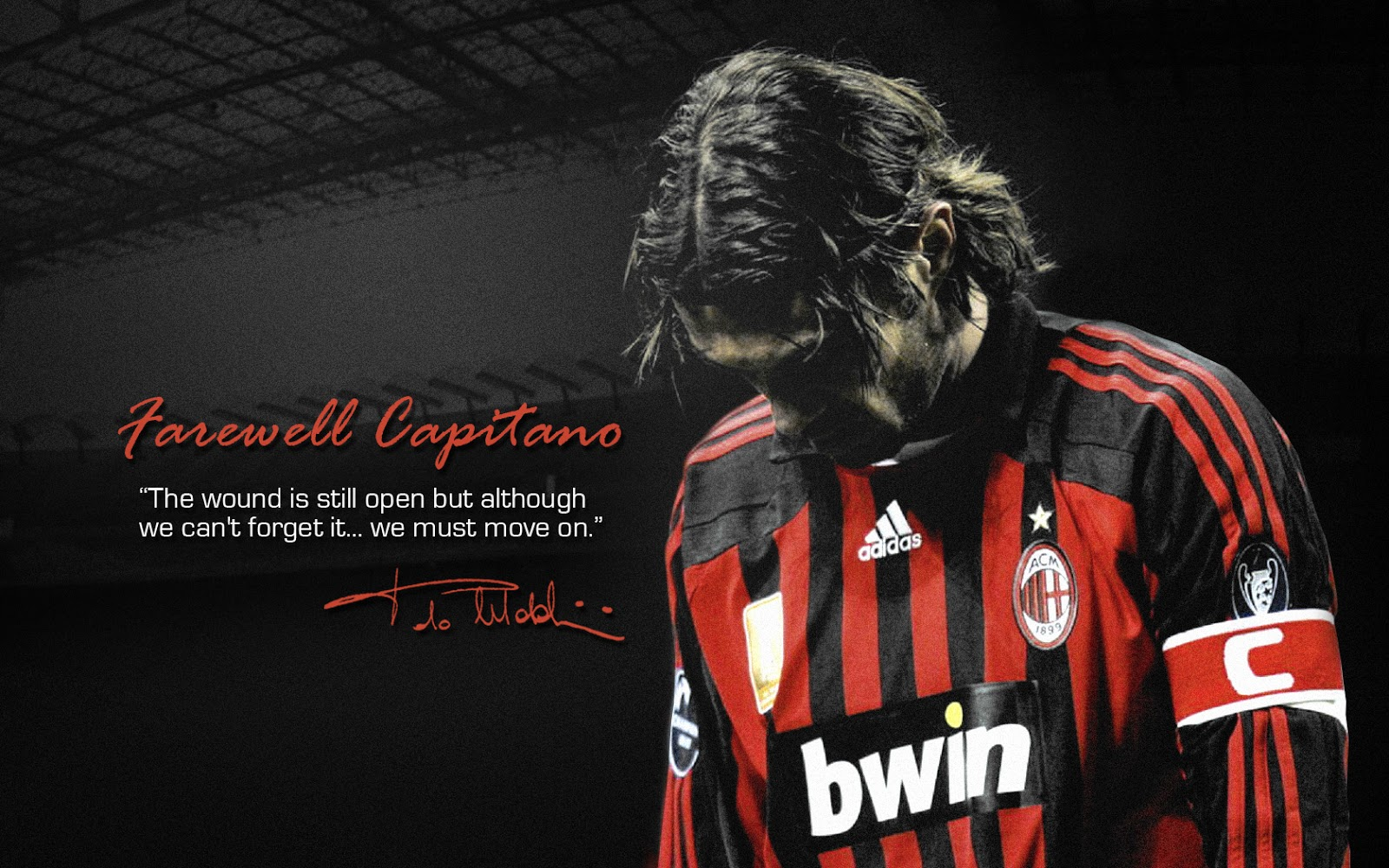 Paolo Maldini - AC Milan Capitan Wallpapers HD