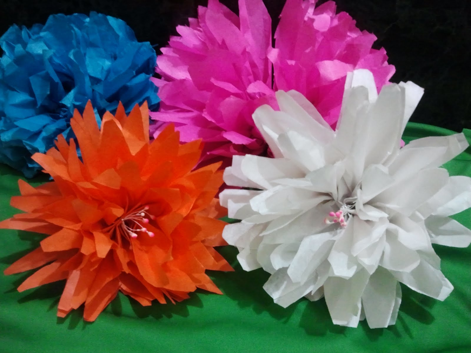 Vision Of Art Tissue Flower Making