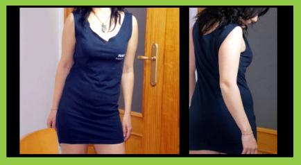 Vestido sin costura
