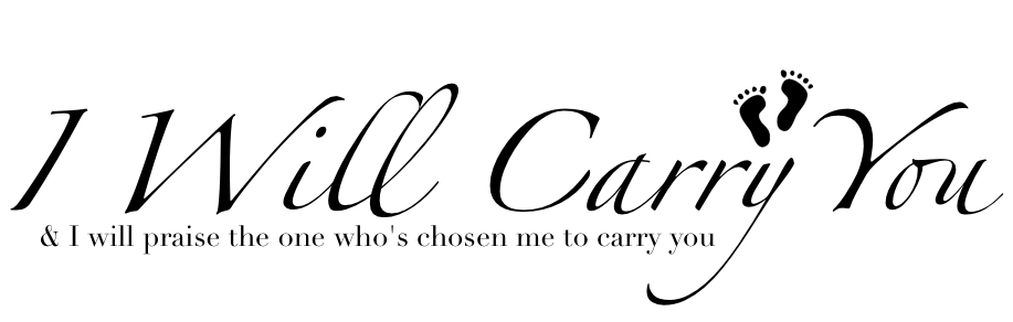 I will carry you..