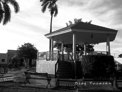 Quiosco Ermita Santa Isabel Merida Mexico