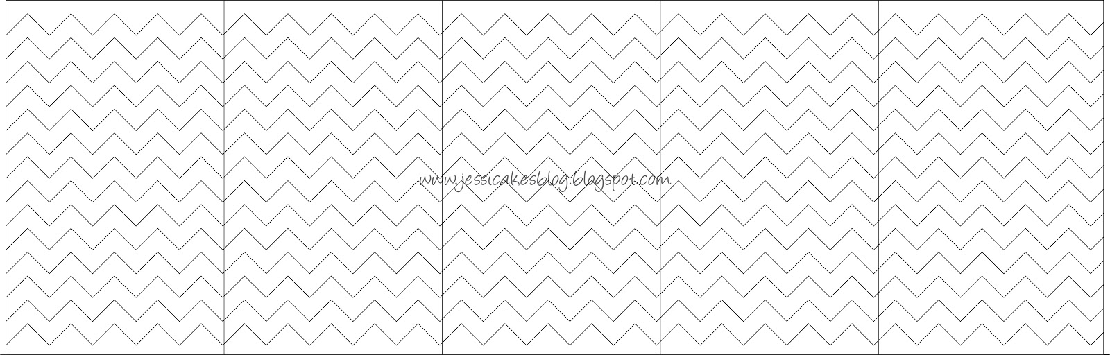Chevron inspired safari themed baby shower jessica for How to make a chevron template