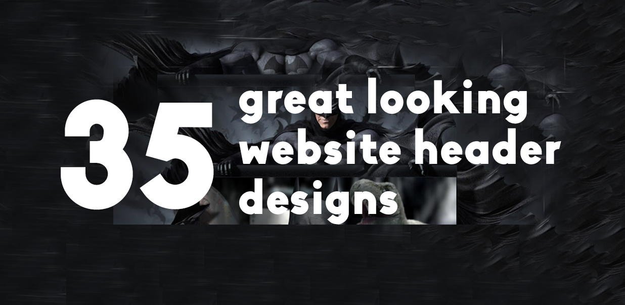 35 Great Looking Website Header Designs