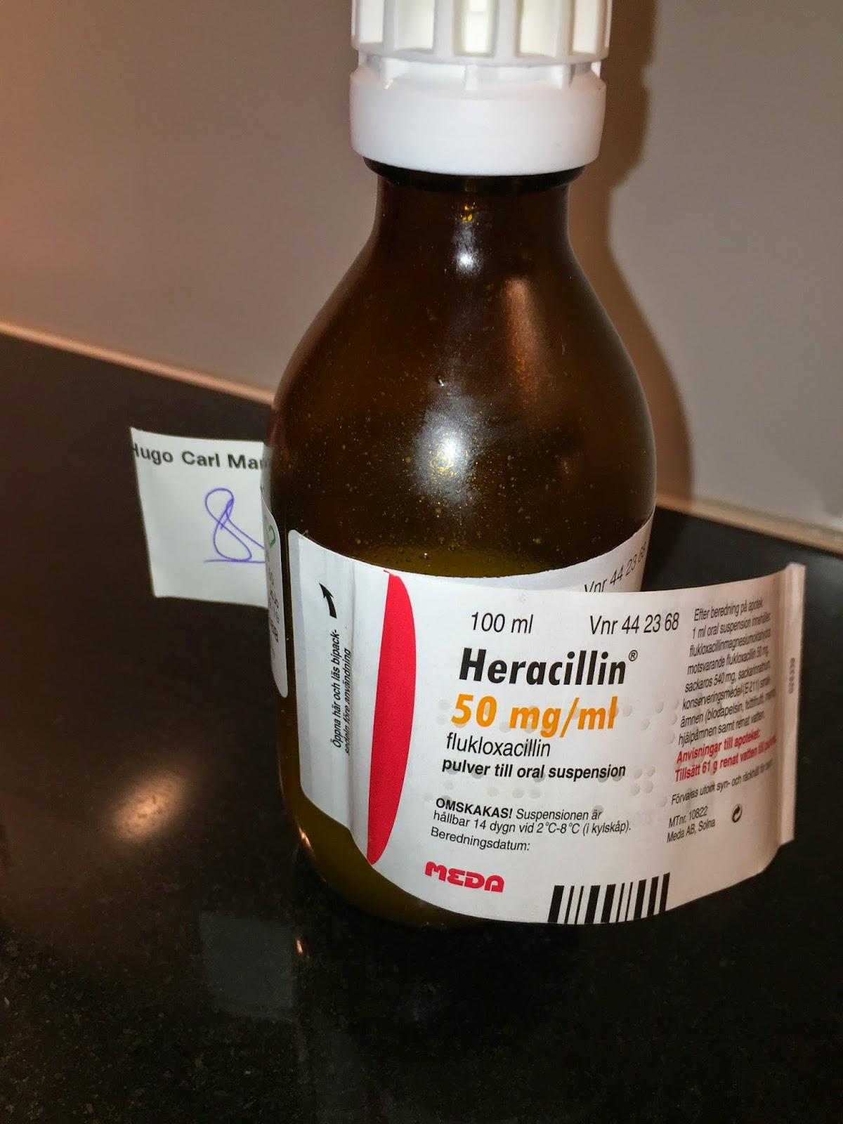 hudinfektion antibiotika