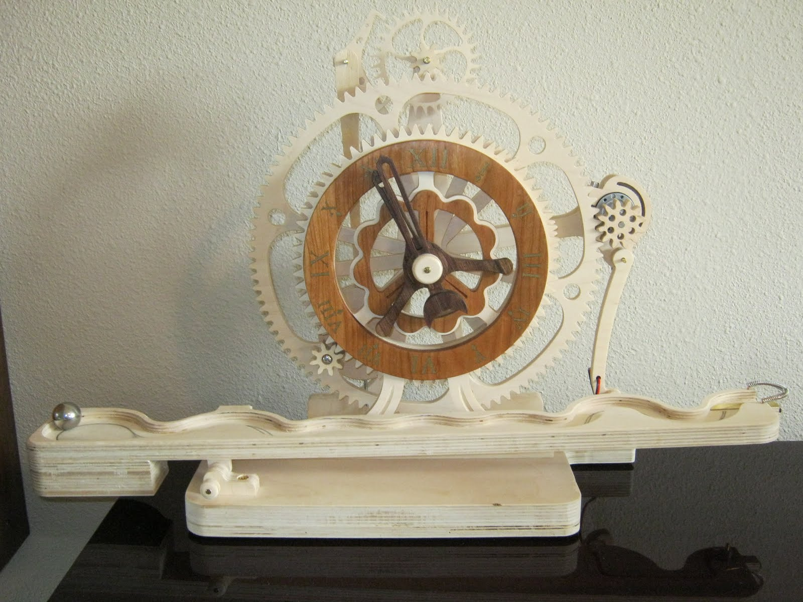 Perry Projects Journey Wooden Clock