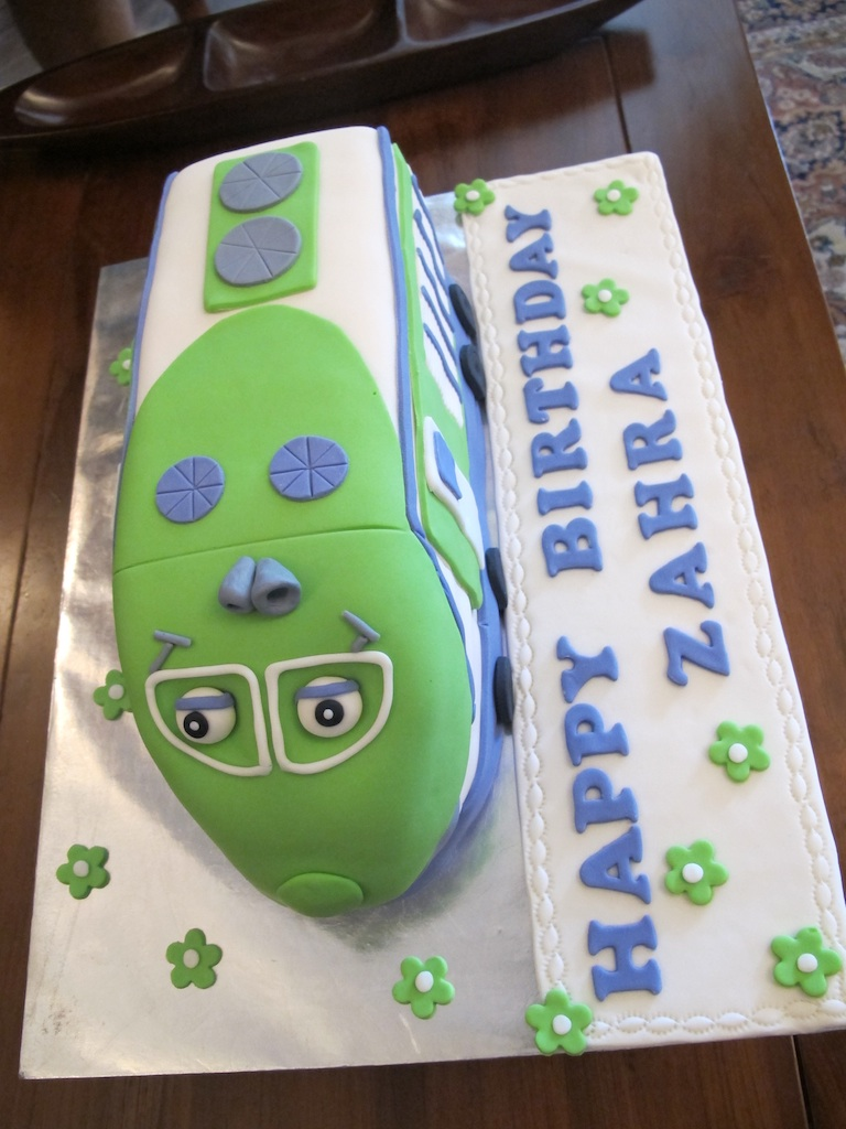 Pink Oven Cakes And Cookies Chuggington Koko Cake - Chuggington birthday cake