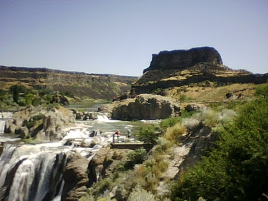 Twin Falls and RattleSnake River