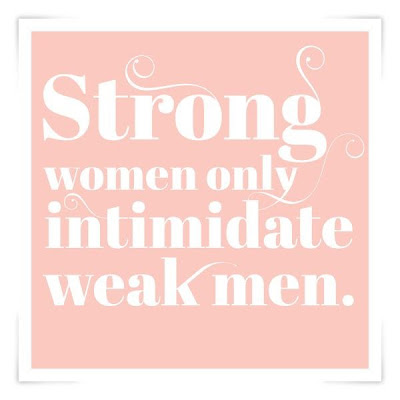 Strong women vs weak men
